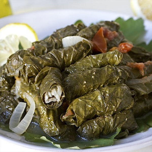 Fish Stuffed Grape Leaves Ziyad