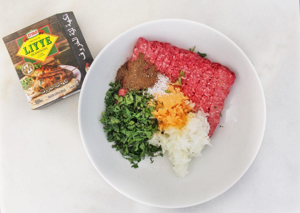 Grilled Kiftah with Liyye Seasoning 1